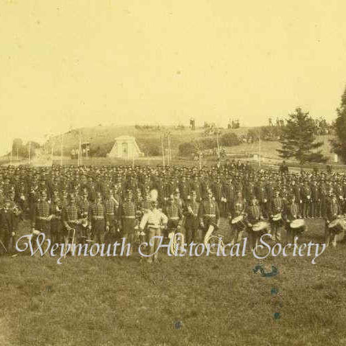 Post 58, G.A.R. (Grand Army of the Republic), at Mt. Hope Cemetery, May 30, 1882
